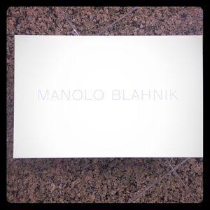 Manolo Blahnik.💕